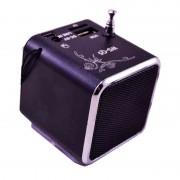 Mini boxa portabila Wster WS-Q5, 3 W, display LED