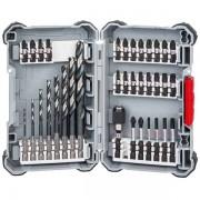Bosch - 2608577148 - Set accesorii insurubare si burghie metal, 35 bucati