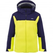 Kjus Boys Jacket SPEED READER citric yellow/into the blue