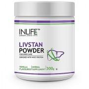 INLIFE Livstan Protein Powder Liver Support Formula Whey with Ayurvedic Herbs (300 g) Vanilla Flavour