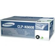 Samsung Tóner Original SAMSUNG CLP-K660B Negro Alta Capacidad 5500 páginas compatible con CLP-610/CLP-660/CLX-6200/CLX-6210/CLX-6240