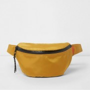 River Island Mens Mustard Yellow sports bumbag (One Size)