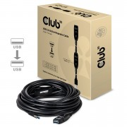 Club3D USB 3.0 Active Repeater Cable 15m Male/Female CAC-1403