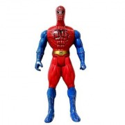 Huge Spider Man toy with Flash LED light on Chest (32 cms) Huge in Size Action Hero