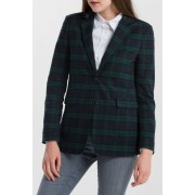 Gant Sako Gant O1.Washable Black Watch Blazer zelená 34