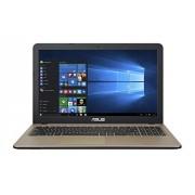 """Asus Portátil X540SA-SCL0205N de 15,6"""" (procesador Intel Celeron N3050, Memoria de 4 GB, Disco Duro de 500 GB, Color Chocolate)"""