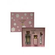 Set cadou Prada La Femme L'Eau (Apa de toaleta 100 ml + Apa de toaleta 10 ml + Lotiune de corp 100 ml), pentru femei
