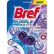 Bref Purple Aktiv Lavender WC Frissítő 50gr