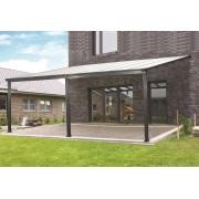 Bouvara Pergola aluminium 5x3m toit terrasse