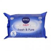 Nivea Baby Fresh & Pure Cleansing Wipes Детска козметика за Жени Почистващи кърпички за деликатната бебешка кожа