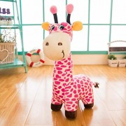 "Judy Dre am Cute Animals Toys Giraffe Doll-Judy Dre am Soft Cartoon Animals Pink Giraffes Toy Stuffed Cotton Plush Children's Dolls Birthday Gift for Kid/Girlfriend 20"" Tall"