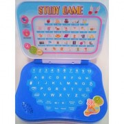 Learning Kids Laptop Study Game Kids Mini Laptop English Learner Study Game Computer Notebook Toy Size- 15/12 cm