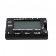GT Power Capacity Lipo Battery Tester Checker With Balance Function For RC Models