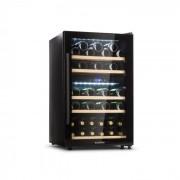 Barossa 40D Garrafeiro de vinhos 2 Divisórias 135 L 41 Garrafas Porta de vidro Touch