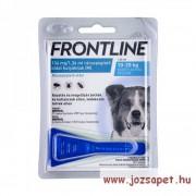 3db Frontline Spot On M kullancs, bolha ellen kistestű (10-20kg) kutya számára