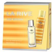 La Rive For Woman - zestaw, woda perfumowana, dezodorant