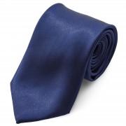 TND Basics Glänzende Marineblaue Basic Krawatte 8 cm