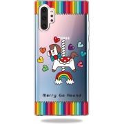 Mobigear TPU Cartoon Hobbelpaard Samsung Galaxy Note 10 Plus