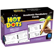 Hot Dots: Academic Vocabulary Cards, Grades 4-6