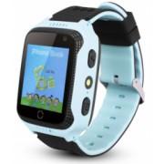 Ceas GPS Copii iUni Kid530 Touchscreen Telefon incorporat Bluetooth Camera 1.3MP Lanterna Buton SOS Albastru Bonus Bratara Roca Vulcanica unisex
