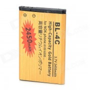 """BL-4C-GD """"2450mAh"""" la bateria del telefono movil para Nokia - Golden"""
