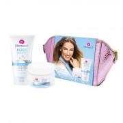 Dermacol Aqua Beauty confezione regalo crema giorno 50 ml + gel detergente 3in1 150 ml + trousse donna