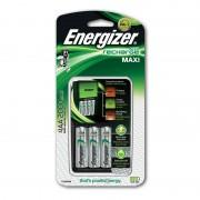 Energizer Maxi Charger Pack Carregador + 4 Pilhas Recarregáveis 200 mAh AA