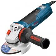 Polizor unghiular Bosch - GWS 19-125 CI, 1900 W, 125 mm, protectie suprasarcina, aparatoare rapida, maner antivibratii, turatie constanta, protectie repornire