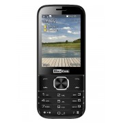 Maxcom MM237 mobiltelefon, dual sim-es kártyafüggetlen, bluetooth-os, fm rádiós fekete