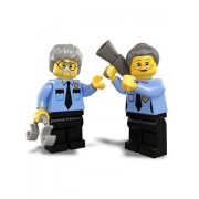 The Lego Movie LOOSE Minifigures Ma & Pa Cop Minifigures LOOSE