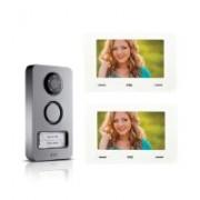 > Kit videocitofono bifamiliare digitale cxModo - Mikra