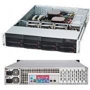 Supermicro SuperChassis 825TQ-R740LPB Rack 740W Zwart computerbehuizing