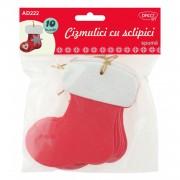 Accesorii craft Daco Cizmulici cu Sclipici Spuma AD222