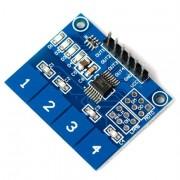 Modul touch capacitiv TTP224 4 taste
