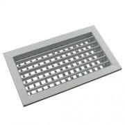 SHVN fehér kétsoros acél fali rács