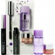 Clinique Gift Set 7ml High Impact Máscara - Black + 5ml All About Eyes Crema de Ojos + 30ml Desmaquillante