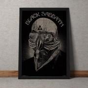 Quadro Decorativo Black Sabbath 35x25