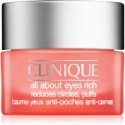 Clinique All About Eyes Rich crema hidratante para contorno de ojos antibolsas y antiojeras 15 ml