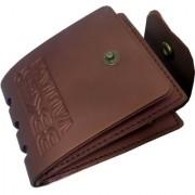 SET OF 2 New Vintage Style Men Leatherlite Bifold Wallet.
