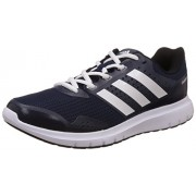adidas Men's Duramo 77 M Blue, White and Black Mesh Running Shoes - 9 UK