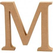 Creativ Company Bokstav, H: 8 cm, tjocklek 1,5 cm, 1 st., MDF
