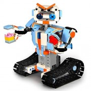 Cecileie RC App Control Robots DIY Assembled Toys 2.4G Smart Remote Control Building Block For Boys Girls Kids Gift