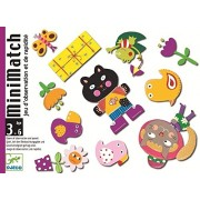 Djeco / MiniMatch Matching Card Game