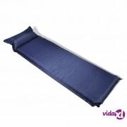 vidaXL Plavi zračni madrac 10 x 66 x 200 cm