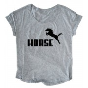 Horse Puma Loose Fit Top