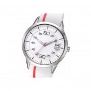 Reloj Deportivo Q982J301Y-Blanco Con Rojo