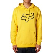 Fox Legacy head Jersey con capucha Amarillo XL