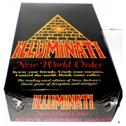 1995 Illuminati New World Order Card Game Factory Sealed CCG NIB(INWO: Limited Edition Booster Pack POP)(540 Cards Total) by Steve Jackson(First Printing Original Version Extremely Rare 1994-1995)