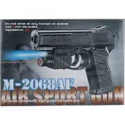 RIANZ Air Sports M 2068 Air Mouser Toy Gun With Laser (Color - Black)