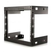 """Gabinete p/rack Startech 8U abierta de pared fondo 12"""""""